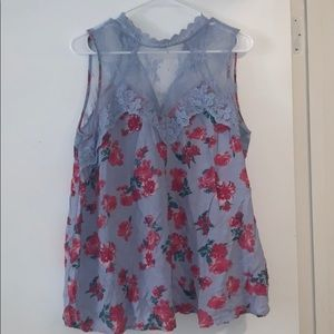 Tops - Floral printed Blouse